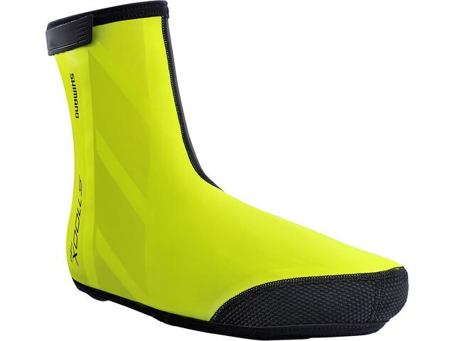 Shimano S3100R NPU+ Shoes Cover neon yellow